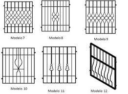 Resultado de imagen para diseño de rejas para ventanas