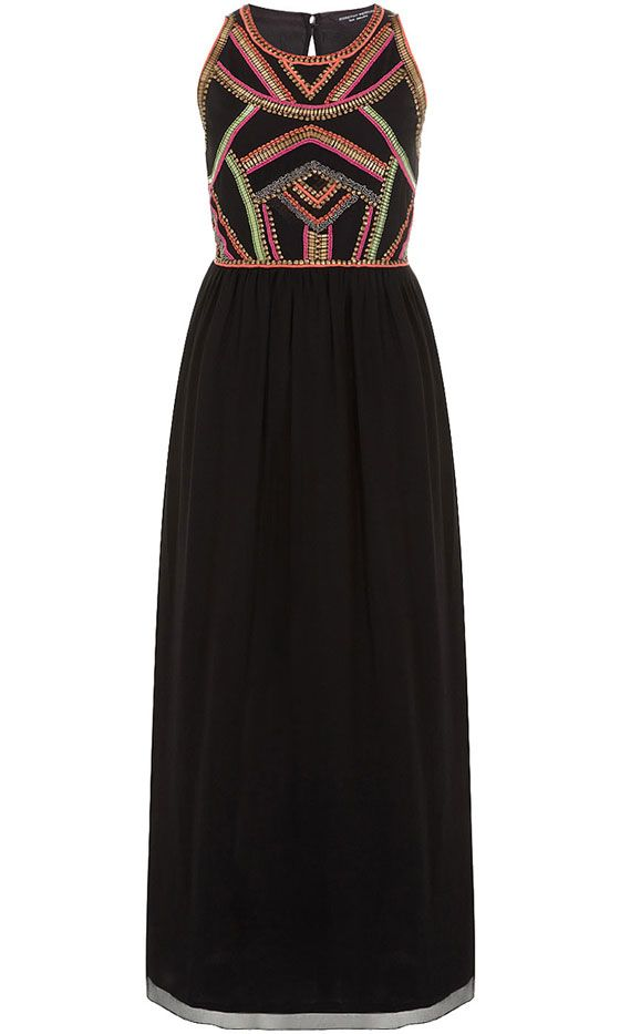 Dorothy Perkins Embellished Maxi Dress, £50