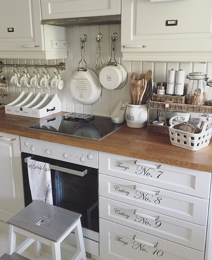 604 best images about home on pinterest country style - Shabby chic modern kitchen ...
