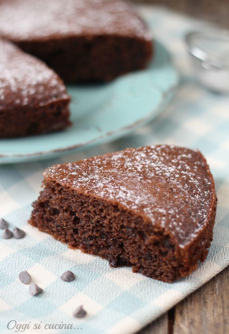 torta soffice mascarpone e cioccolato