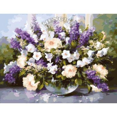 Картина-раскраска по номерам «Аромат весны»   MMC018