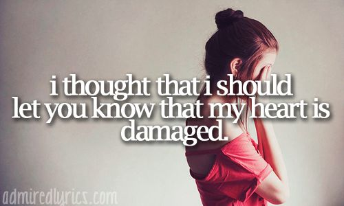 Damaged - Danity Kane. This used to be like my favorite song.