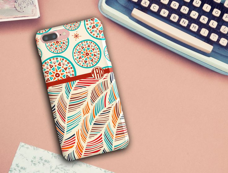 Samsung Cases, iPhone 6/6s/6 Plus/6s Plus/5s, LG Phone, Boho Chic, Bohemian Phone Case, Colourful Phone case, monogrammed phone case by SaidTheOwl on Etsy