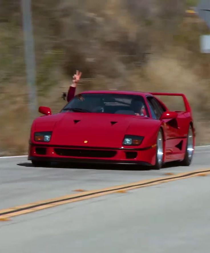 Jay Leno Waited 29 Years To Drive A Ferrari F40