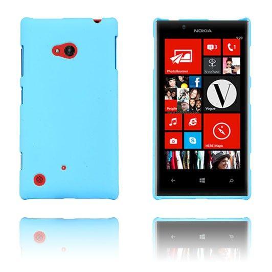 Hard Shell (Lys Blå) Nokia Lumia 720 Etui