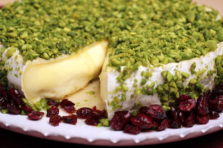 Impress your guests with this winning combination of Camembert with Pistachio Crust as cooked by Jacques Pepin on new series 'Heart and Soul', airing on PBS nationwide from fall 2015 #JPHeartandSoul