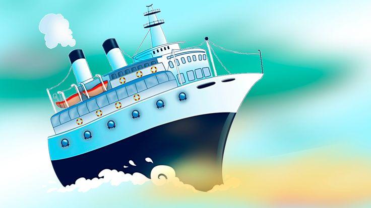 Картинки пароход для детей
