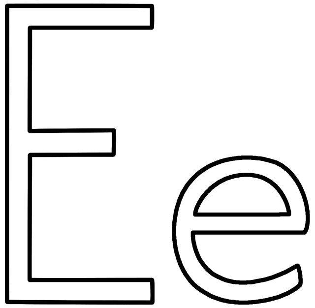 27 Best Image Of Letter E Coloring Page Entitlementtrap Com Free Printable Alphabet Letters Alphabet Coloring Pages Free Printable Letter Templates