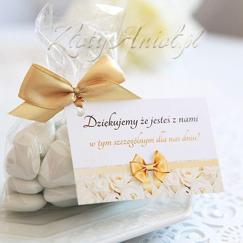 BILECIK podziękowanie dla gości Biała Róża