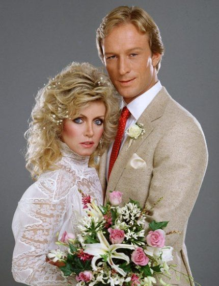 Donna Mills and Ted Shackelford in Knots Landing (1979)