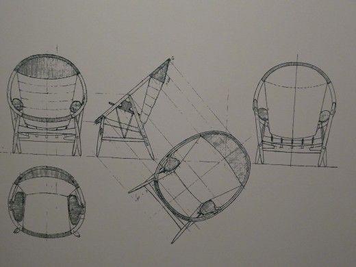 chair design sketch