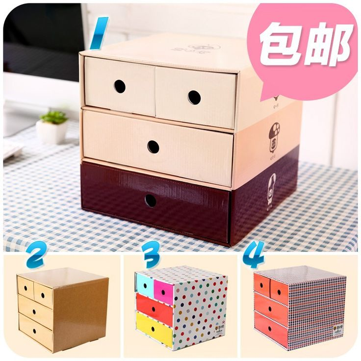Cheap Storage Boxes & Bins on Sale at Bargain Price, Buy Quality storage box with handle, storage box clothes, storage boxes for bathroom from China storage box with handle Suppliers at Aliexpress.com:1,Specification:26.3cm*27cm*25.5cm 2,Lattice Quantity:4 3,Material:Cardboard 4,Product:Office Organizer 5,Style:Korean