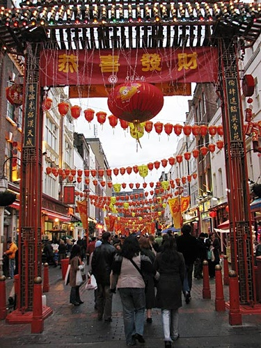 #ChinaTown #London UK