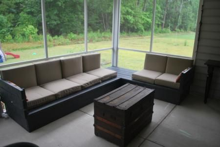 platform outdoor sectional do it yourself home projects. Black Bedroom Furniture Sets. Home Design Ideas