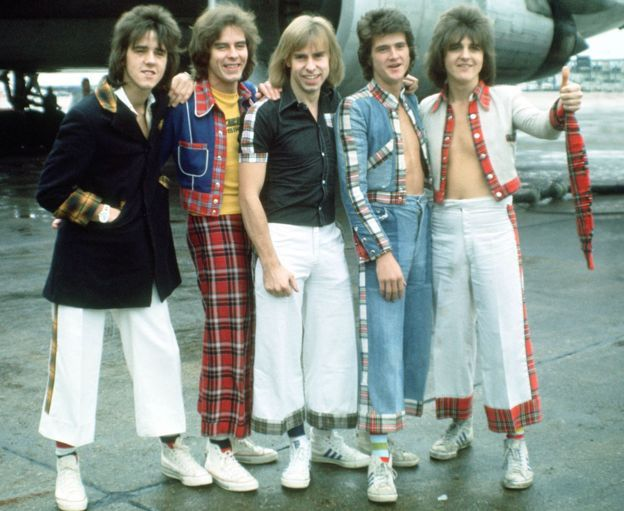 Bay City Rollers in 1975 - they've just announced a reunion tour