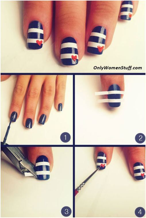 1000 Best Painted Nails 19 Images On Pinterest Beach Nail Designs