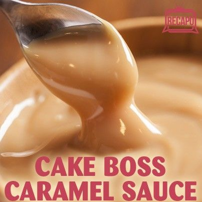 Cake Boss Buddy's Caramel Cream Sauce Recipe + Cream Cheese Frosting