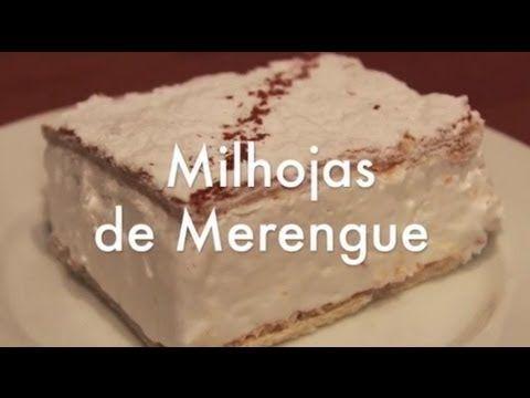 Milhojas de Hojaldre y Merengue Italiano - YouTube