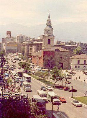 Santiago:Alameda ,Iglesia San Francisco.