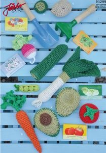 FREE Vegetables Crochet Pattern / Tutorial                                                                                                                                                                                 More