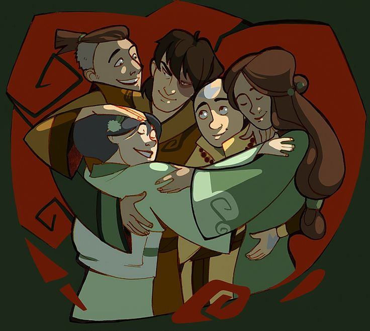 1280 Best Images About ATLA: The Gaang On Pinterest
