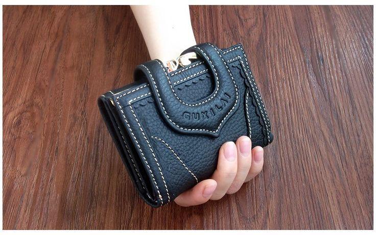 Women's Wallets Genuine leather 3 fold PU clutch