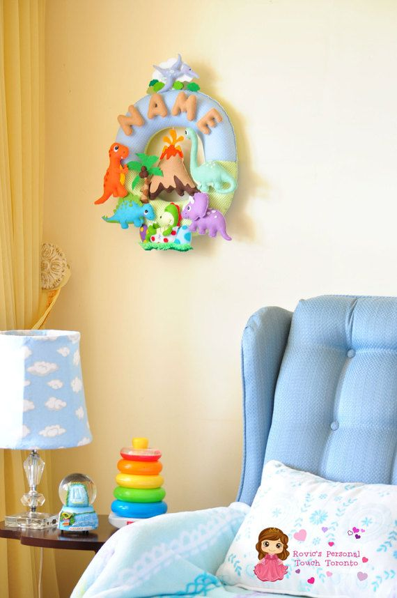 Personalize Felt Name Wall Decor Nursery by RovicsPersonalTouch