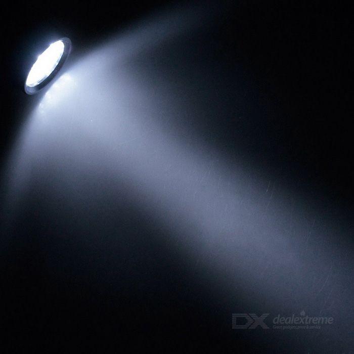 Sunwayman C23C 1000lm 8-Mode XM-L U2 LED White Light Outdoor Flashlight - Black (1*18650 / 2*CR123A)