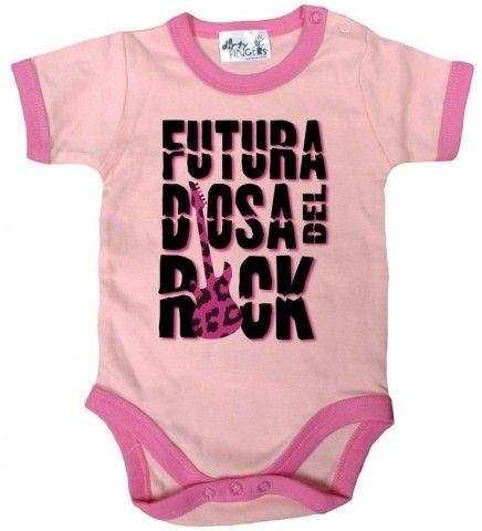 Ropa de bebé para celebrar el día internacional del Rock   ericris.info