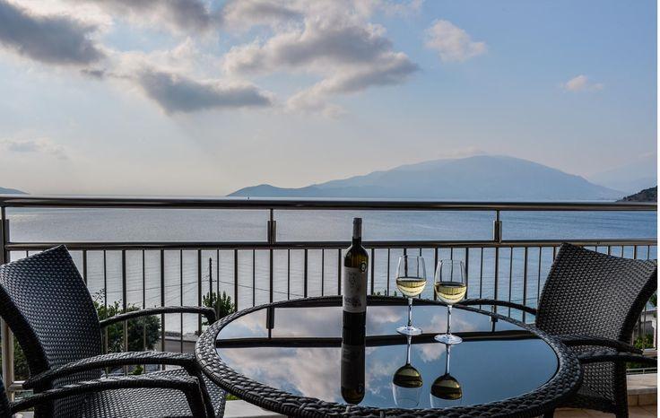 room with a view@odysseyhotel, room balcony, Kefalonia, Greece
