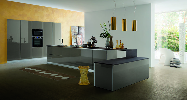 Cucine moderne, Myglass di Gicinque  http://gicinque.com/it_IT/products/1/gallery/2/line/67/composition/121