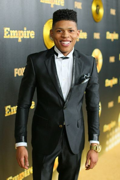 Bryshere Gray at the 'Empire' Premiere in Hollywood