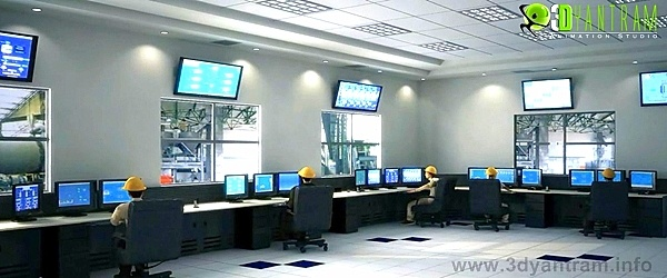 Chemical Office Interior  #3d #Industrial #design in Brisbane, Perth, Australia