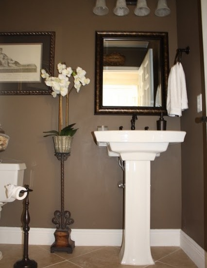 I Like This Pedestal Sink Alot Powder Room Design Pictures Remodel Decor
