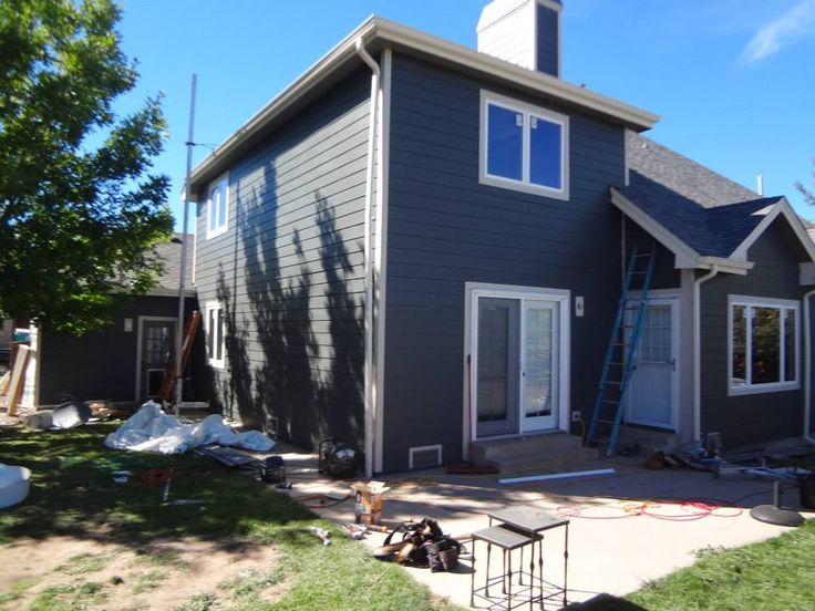 James Hardie Iron Grey Google Search Weatherboard
