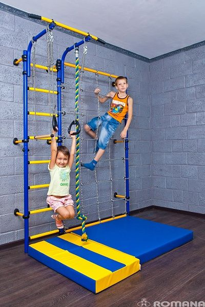 Russian company Romana makes indoor playgrounds