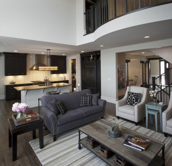 Houzz Living Room Gray Sofa Living Room Grey Dark Grey Sofa