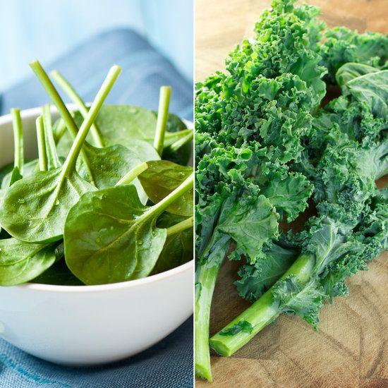 Spinach vs. Kale Nutrition | POPSUGAR Fitness