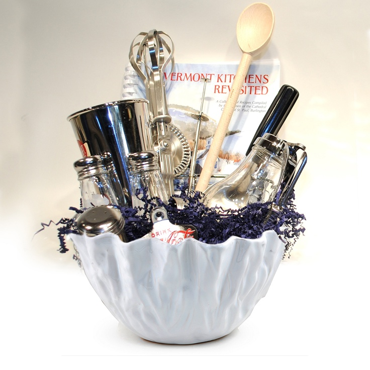 Bridal Shower Gift Basket Climbing On House Halloween: Add Your Kitchen Utensils To A Unique Bowl, Or Give One