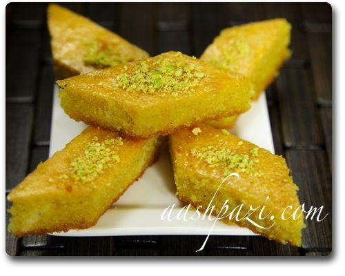 Baklava cake, baghlava yazdi, Recipe