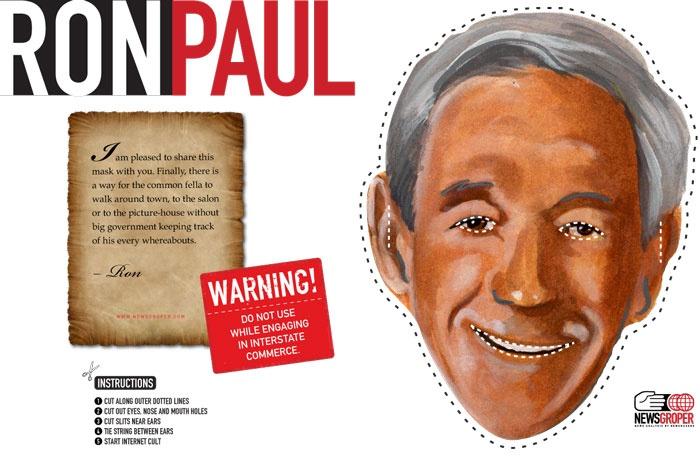 Real life celebrity masks to print