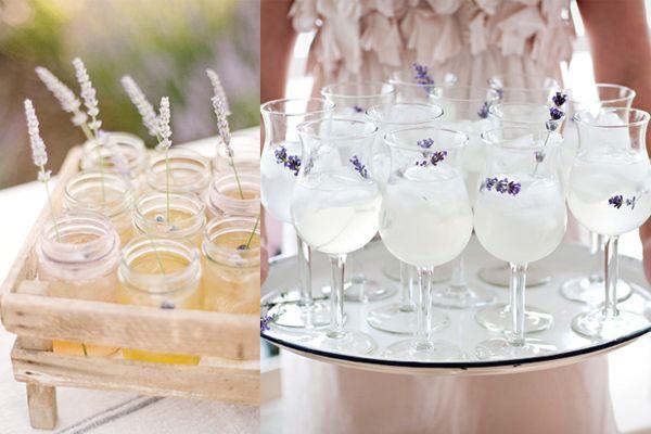 bar: Lavender Teas, Lavender Weddings, Wedding Ideas, Wedding Lavender, Lavender Garnishing Drinks, Cold Drinks, Italian Sodas, Adorable Lavender Deepli, Lavender Lemonade