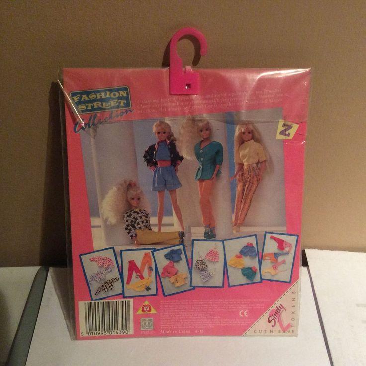 Sindy Doll Street Fashions