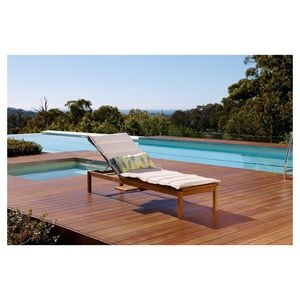 Banksia Sunlounger with side table | Patio by Jamie Durie exclusive to BIG W | $198