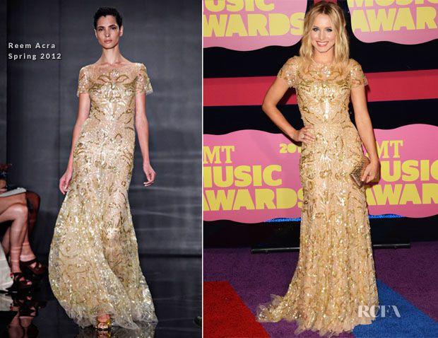 Kristen Bell In Reem Acra � 2012 CMT Music Awards