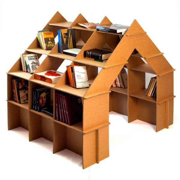 Exciting new eco-friendly cardboard furniture for children from CartonLab - could be a cool display too