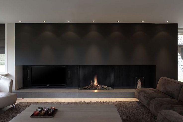 Gas fireplace / contemporary / original design / closed Avenue MF 1050-75 GHE 3S Metalfire