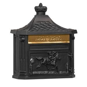 Salsbury Industries 4400 Series Black Victorian Mailbox 4460BLK at The Home Depot - Mobile