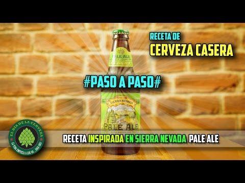 Cómo hacer cerveza artesanal en casa. RECETA de Cerveza AMERICAN PALE ALE PASO A PASO. - YouTube