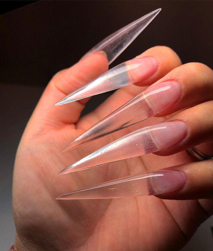 форма ногтей стилеты картинки расписались